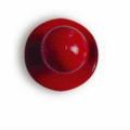 Bottone rosso - 12 pezzi